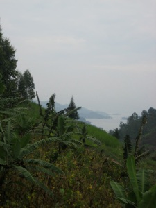 View to Lake Kivu. Courtesy of Jacob Deering.