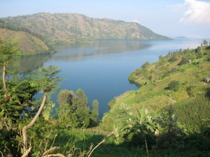 Lake Kivu Bay. Courtesy of Jacob Deering.