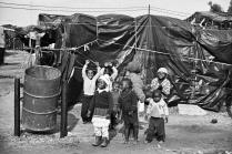 Children in Crossroads squatter camp.