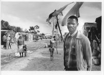 Crossroads squatter camp residents in South Africa