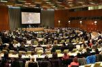 The conference on preventing genocide drew more than 450 people to a meeting room at UN headquarters. Photo courtesy of Africa Renewal/Bo Li