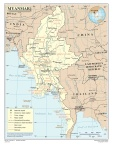 Myanmar Map Courtesy of UN